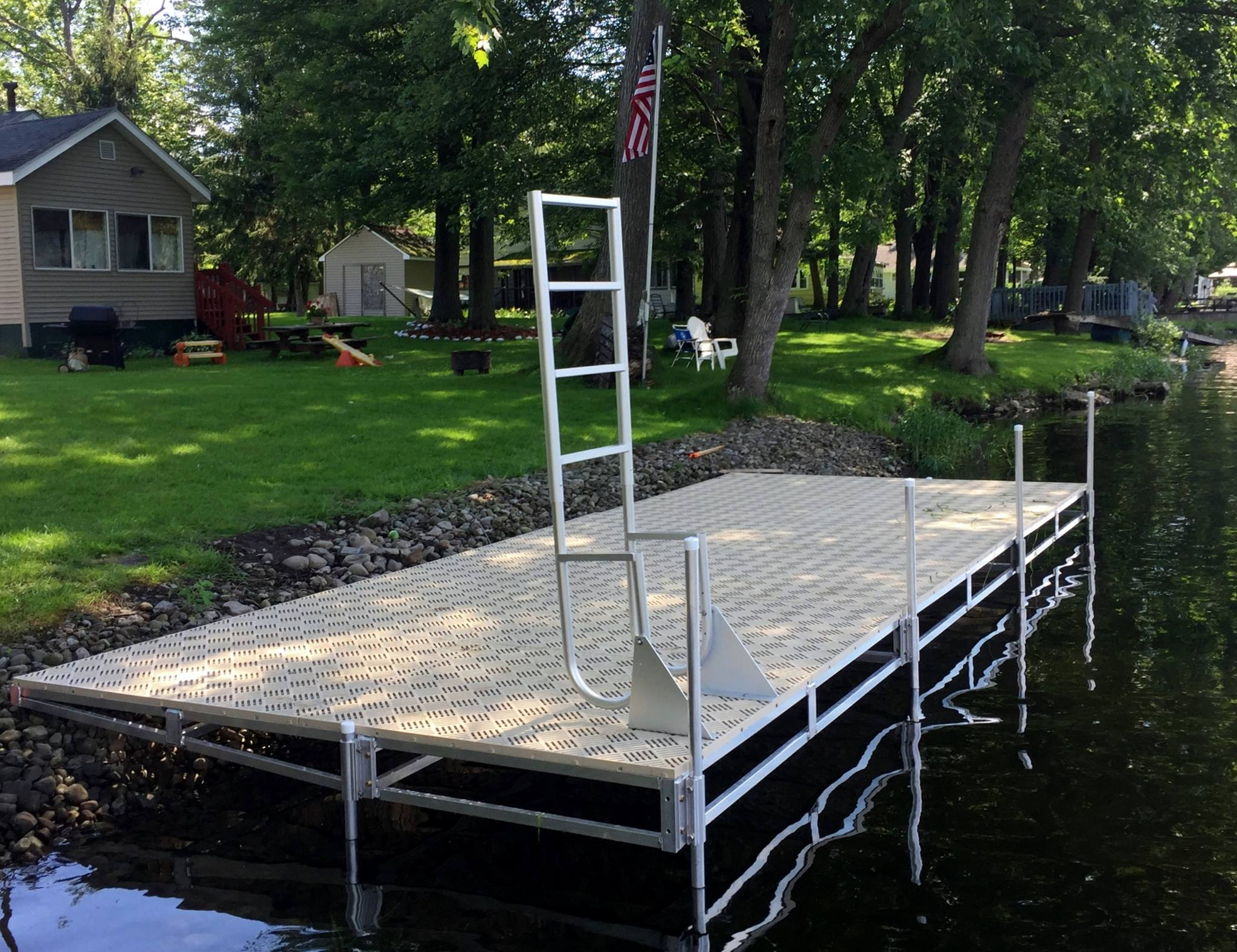 Tapered Patio Dock SunWalk
